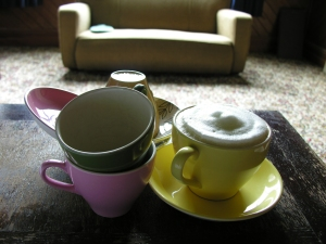 Crown Lynn cups