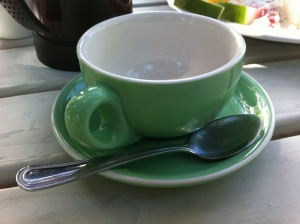 Green cup, Rarotonga Botanical Gardens