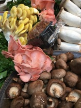 Wild mushrooms at 'Turnips' Fruit & Veg store, Borough Market