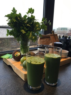 Green detox smoothies