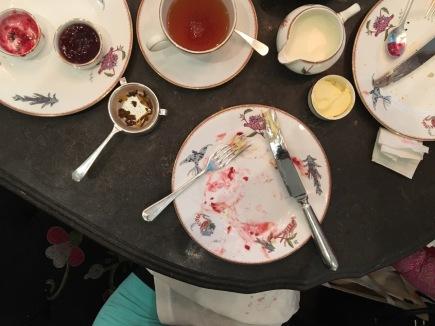 High tea at Ham Yard Hotel